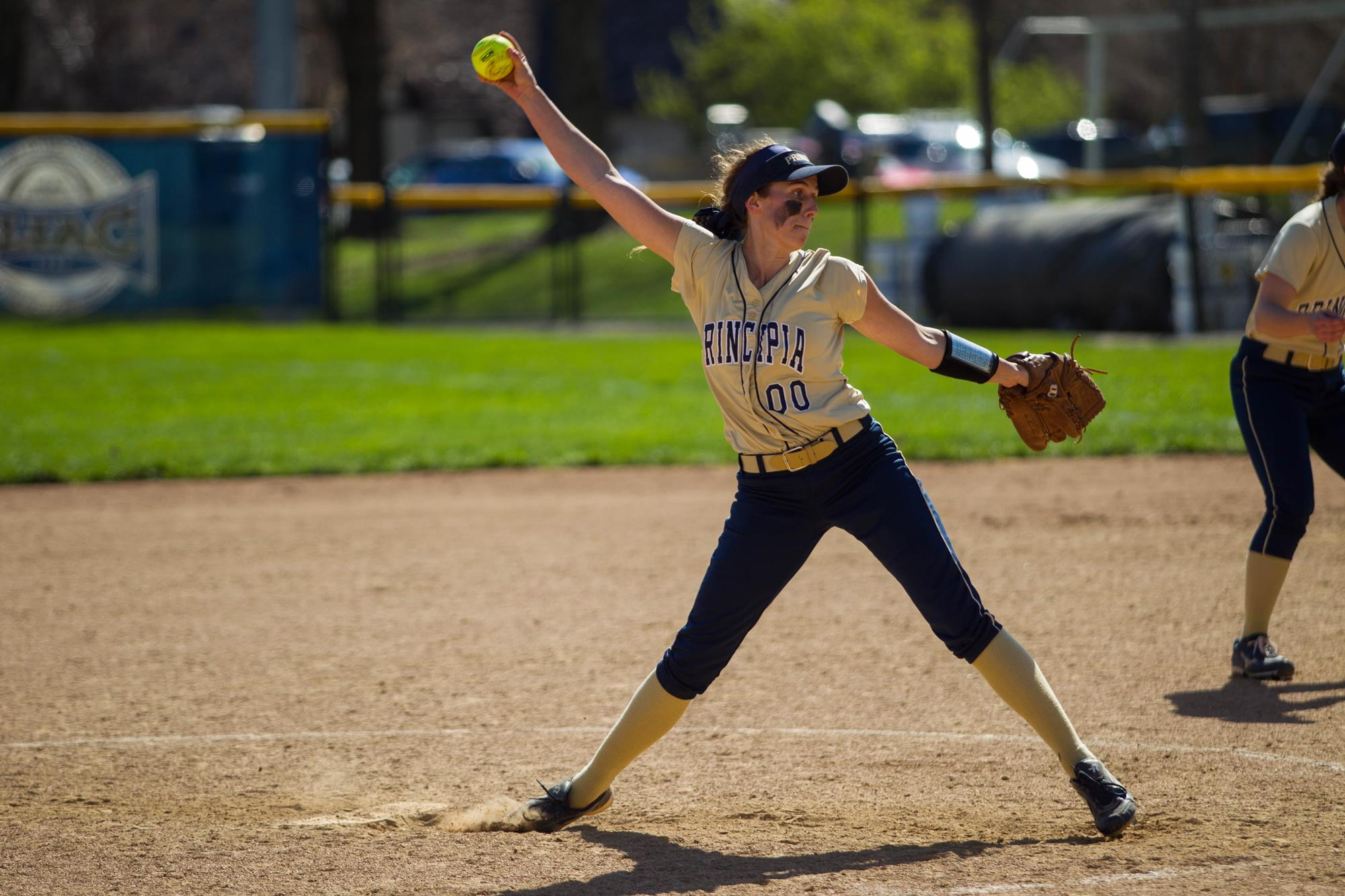 red devils take down panthers in softball home opener principia